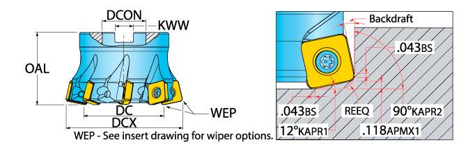 Details about  /5 pcs CIRCLE MACHINE CMFR-2-016-050-CM1 Grooving Parting Carbide Inserts 59007