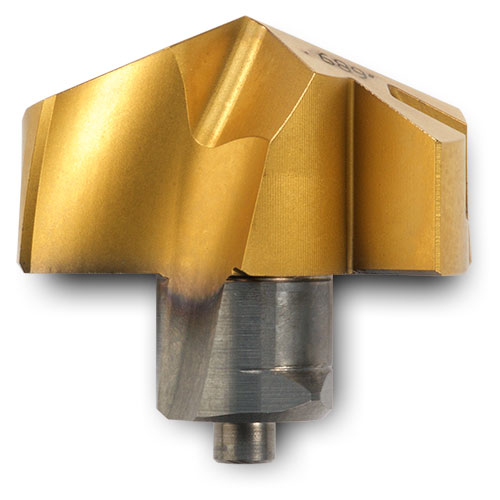5120091 TPA1905R01 IN2505 Ingersoll Gold Twist Replaceable Carbide Tip